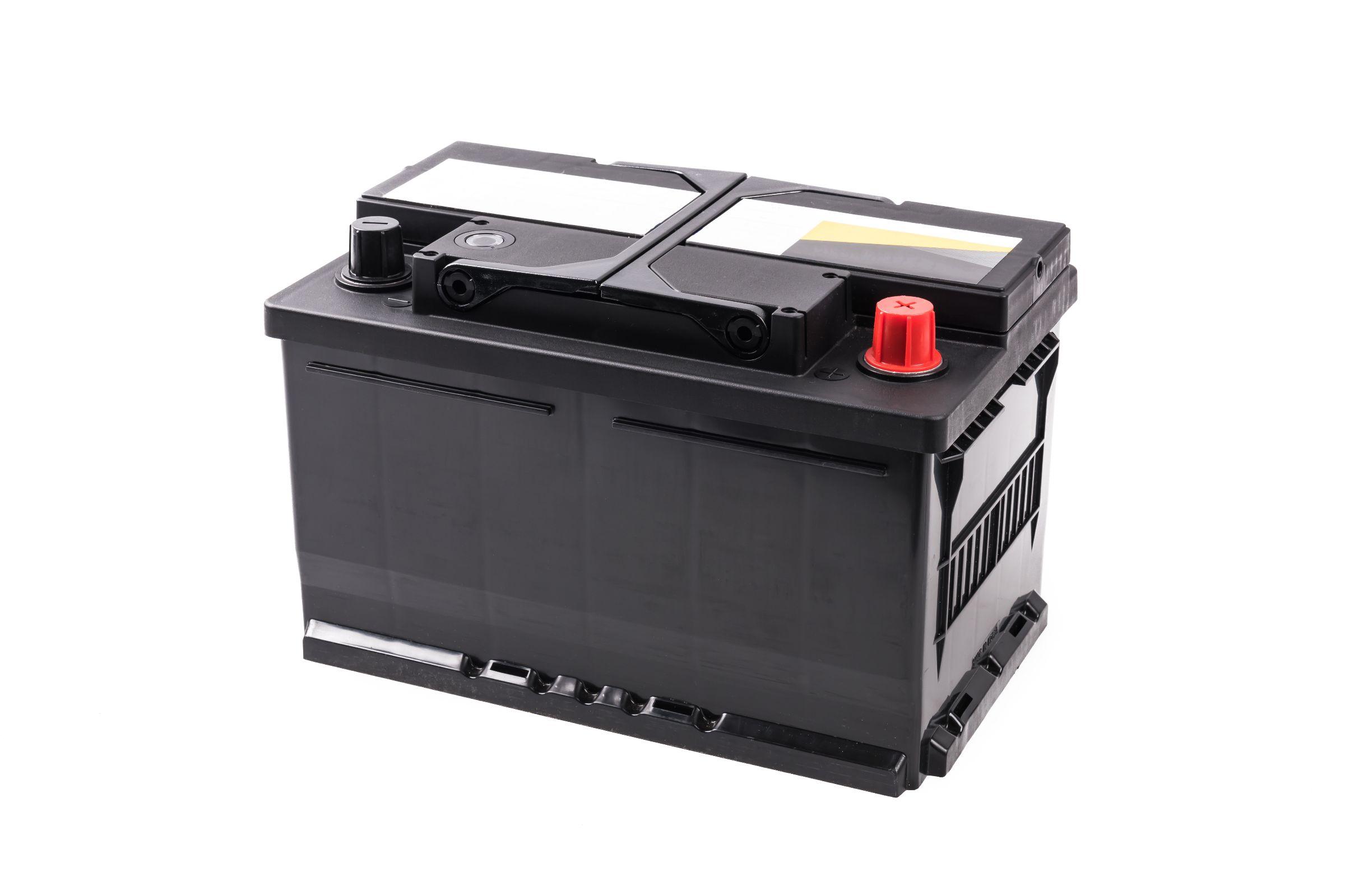 bateria de carro sem marca aparente