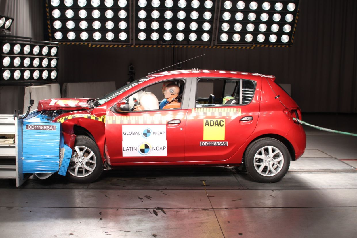 sandero latinncap crashtest