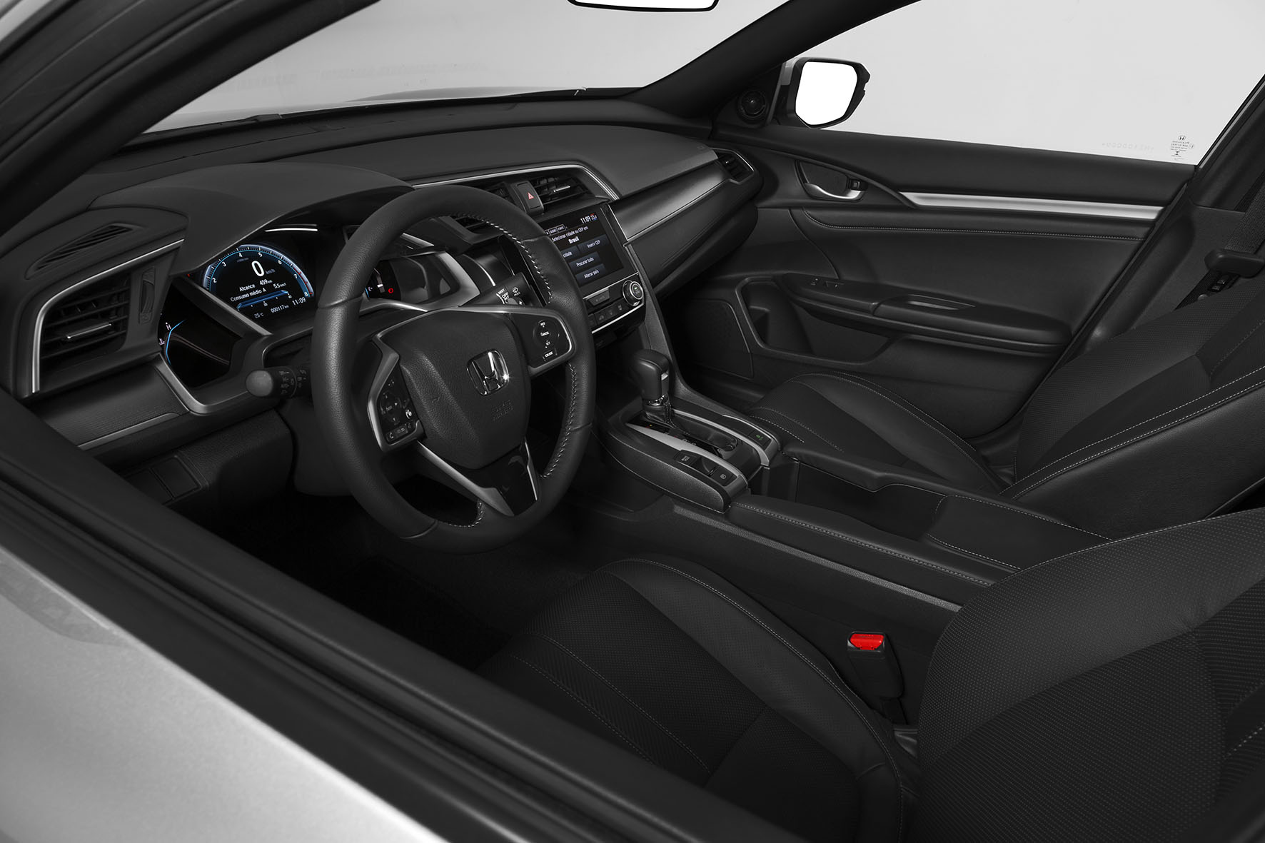 Interior do Honda Civic 0 km