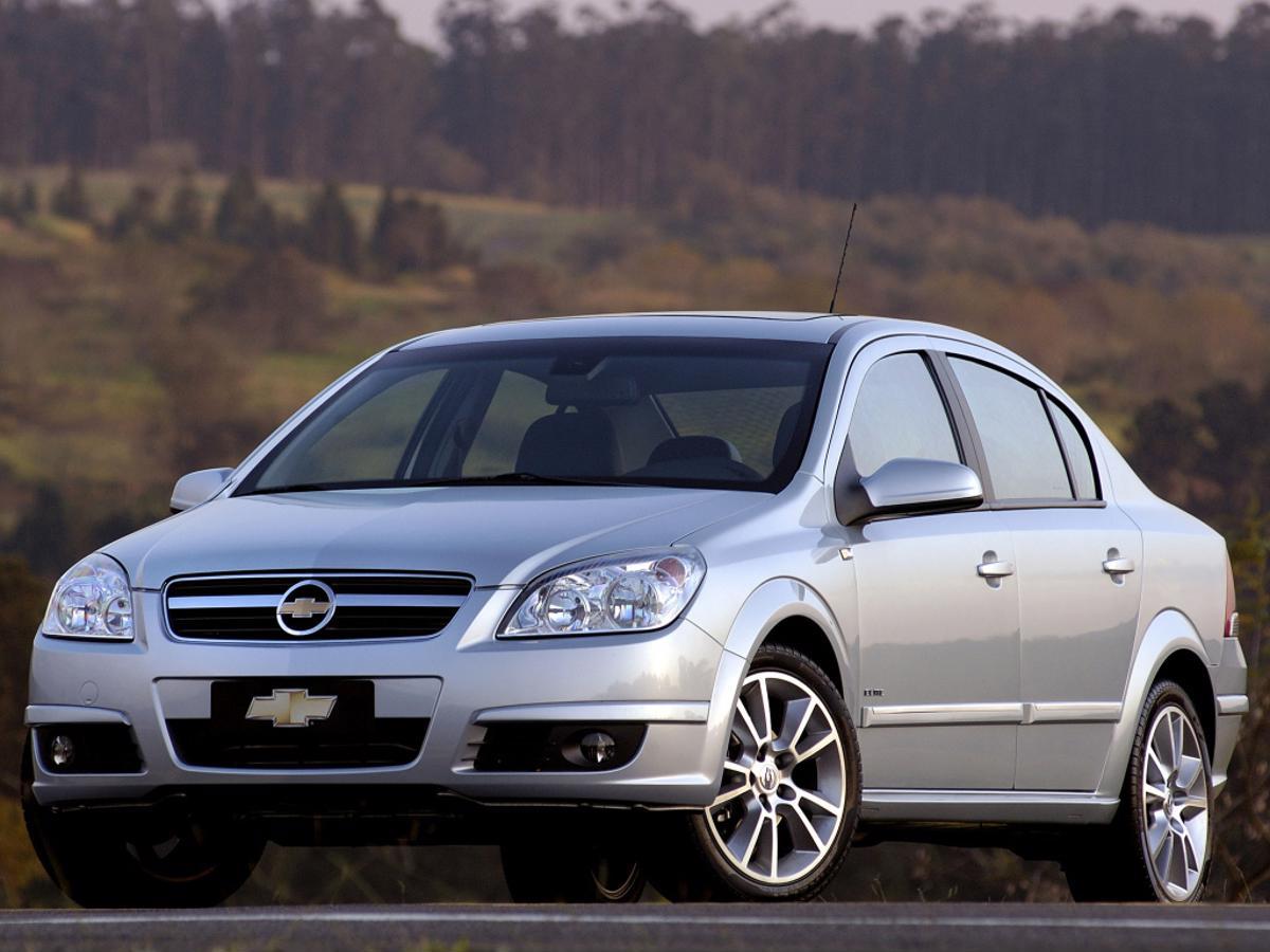 Mudança para pior: Chevrolet Vectra