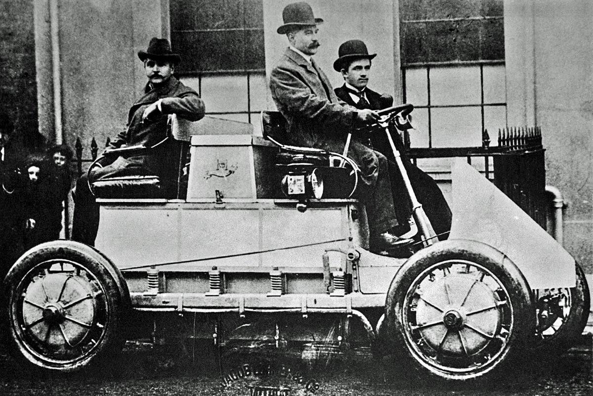 elektromobil primeiro híbrido 1902 lohner porsche tipos de carros híbridos