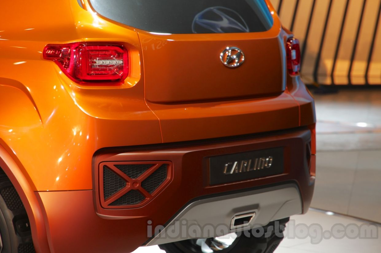 hyundai carlinohyundai hnd 14 taillights at auto expo 2016