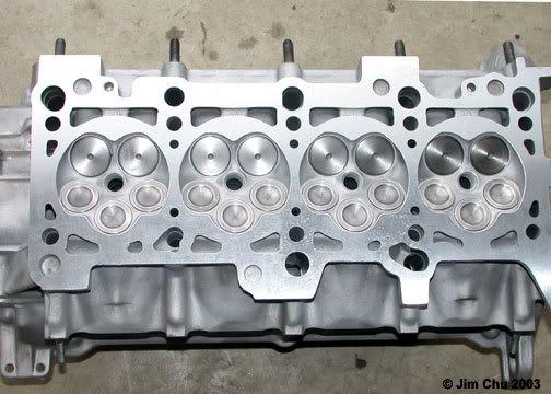 motor 5 válvulas por cilindro