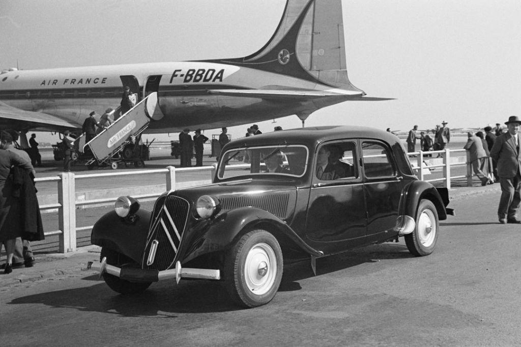 Seleção da França: Citroën Traction Avant