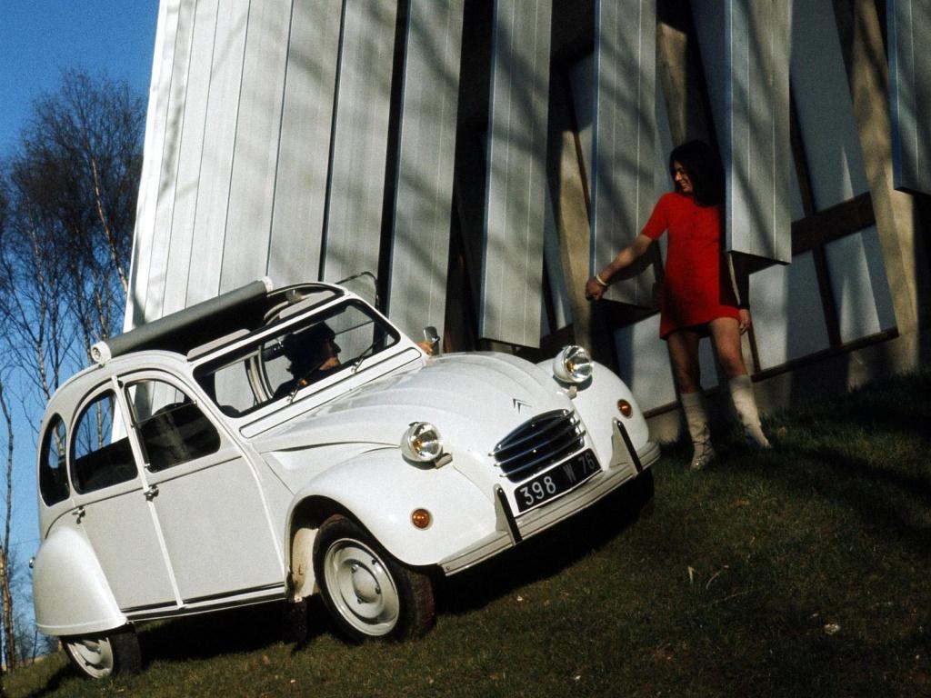 Seleção da França: Citroën 2CV