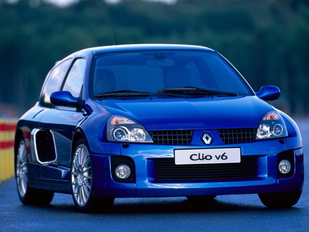 Seleção da França: Renault Clio V6