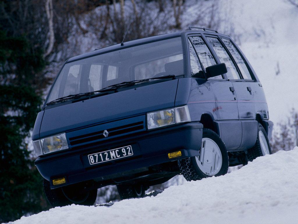Seleção da França: Renault Espace