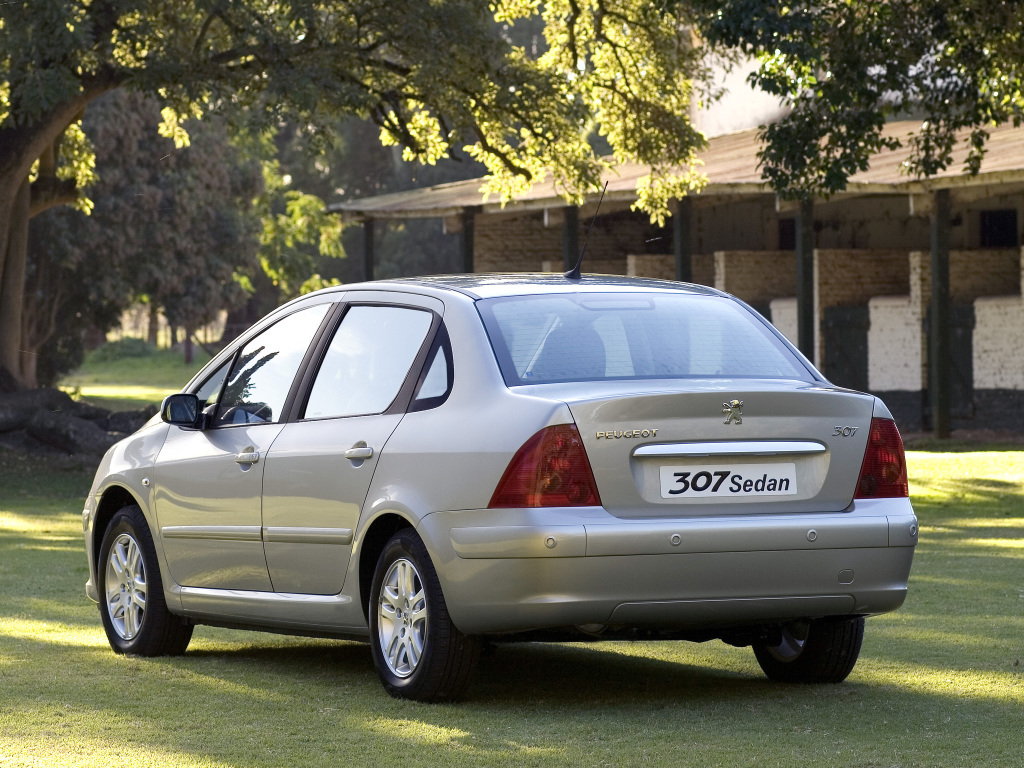 Aplique de bumbum: Peugeot 307 Sedan