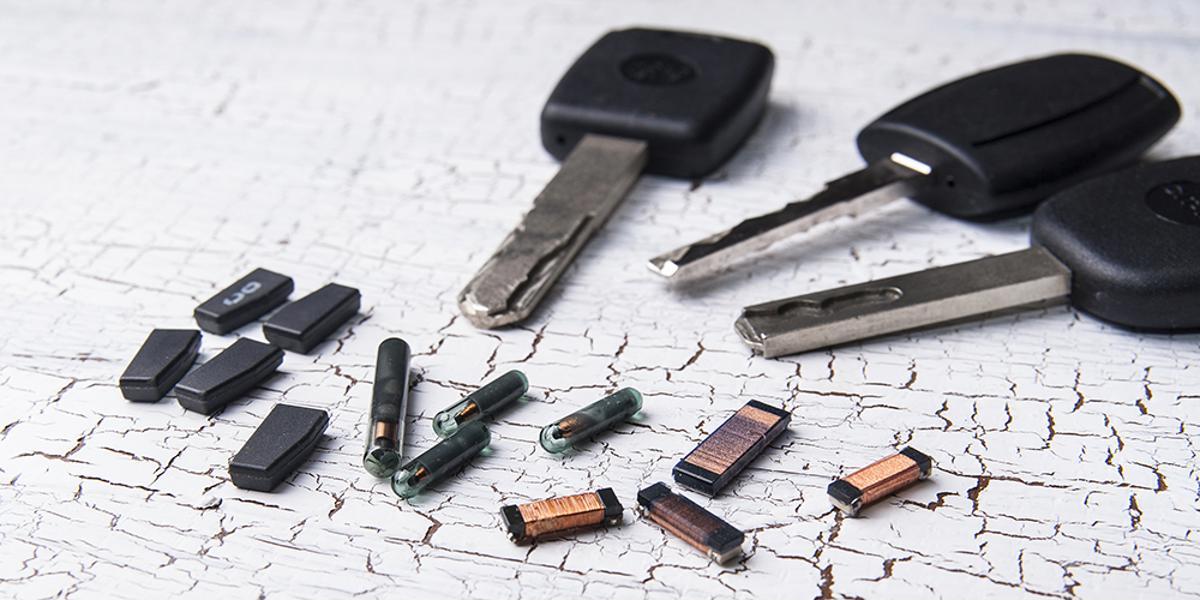 chave codificada transponder