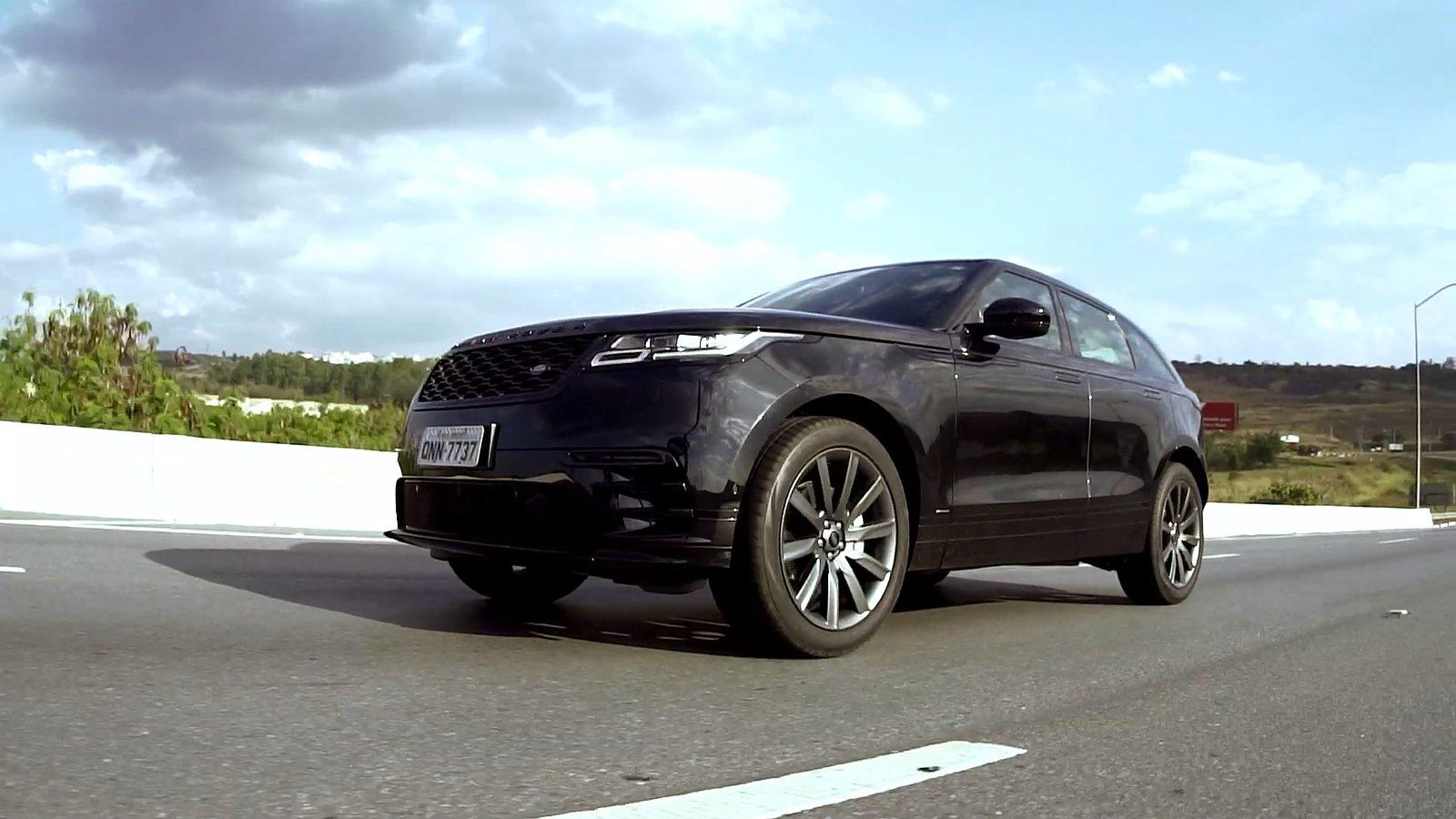 Range Rover Velar HSE custa R$ 445 mil