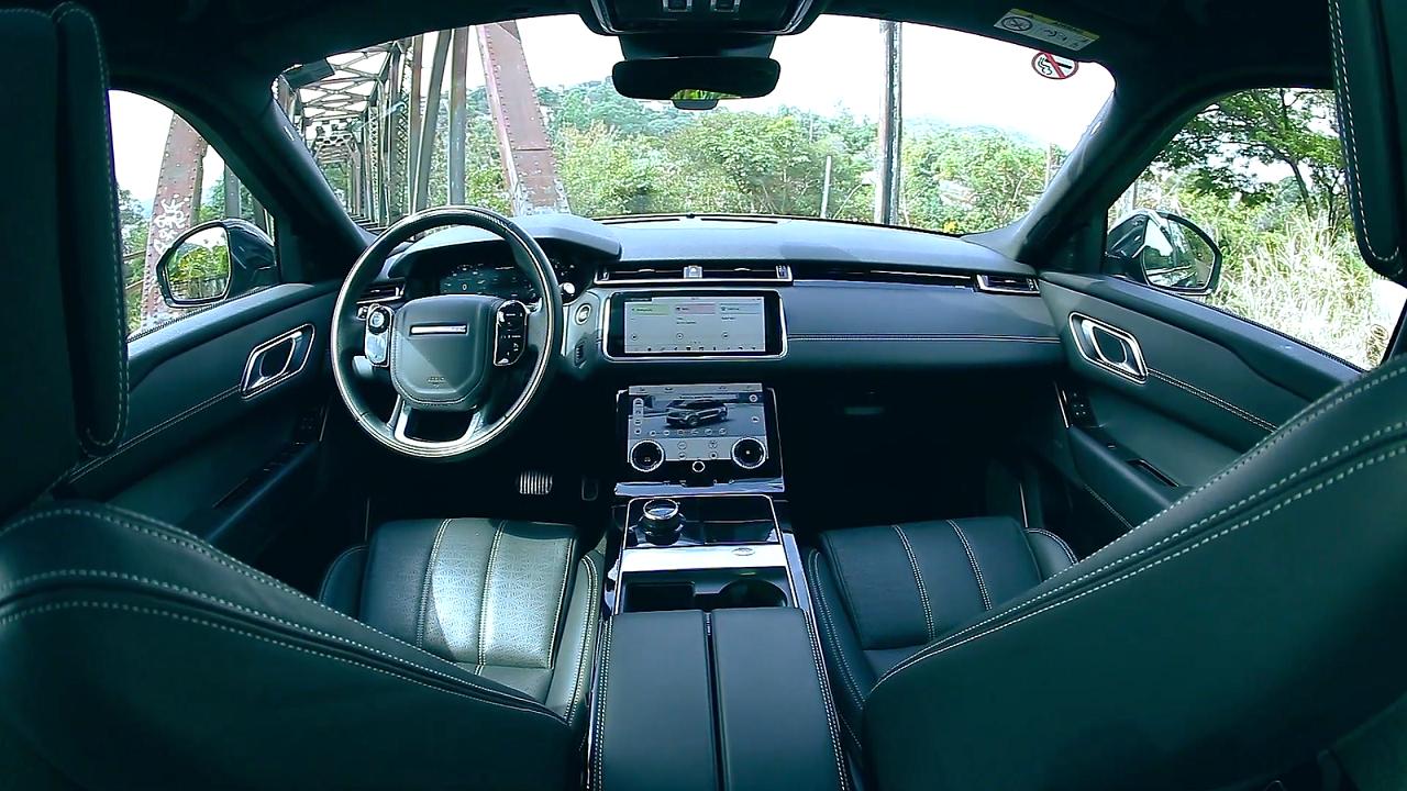 Range Rover Velar tem 3 telas digitais