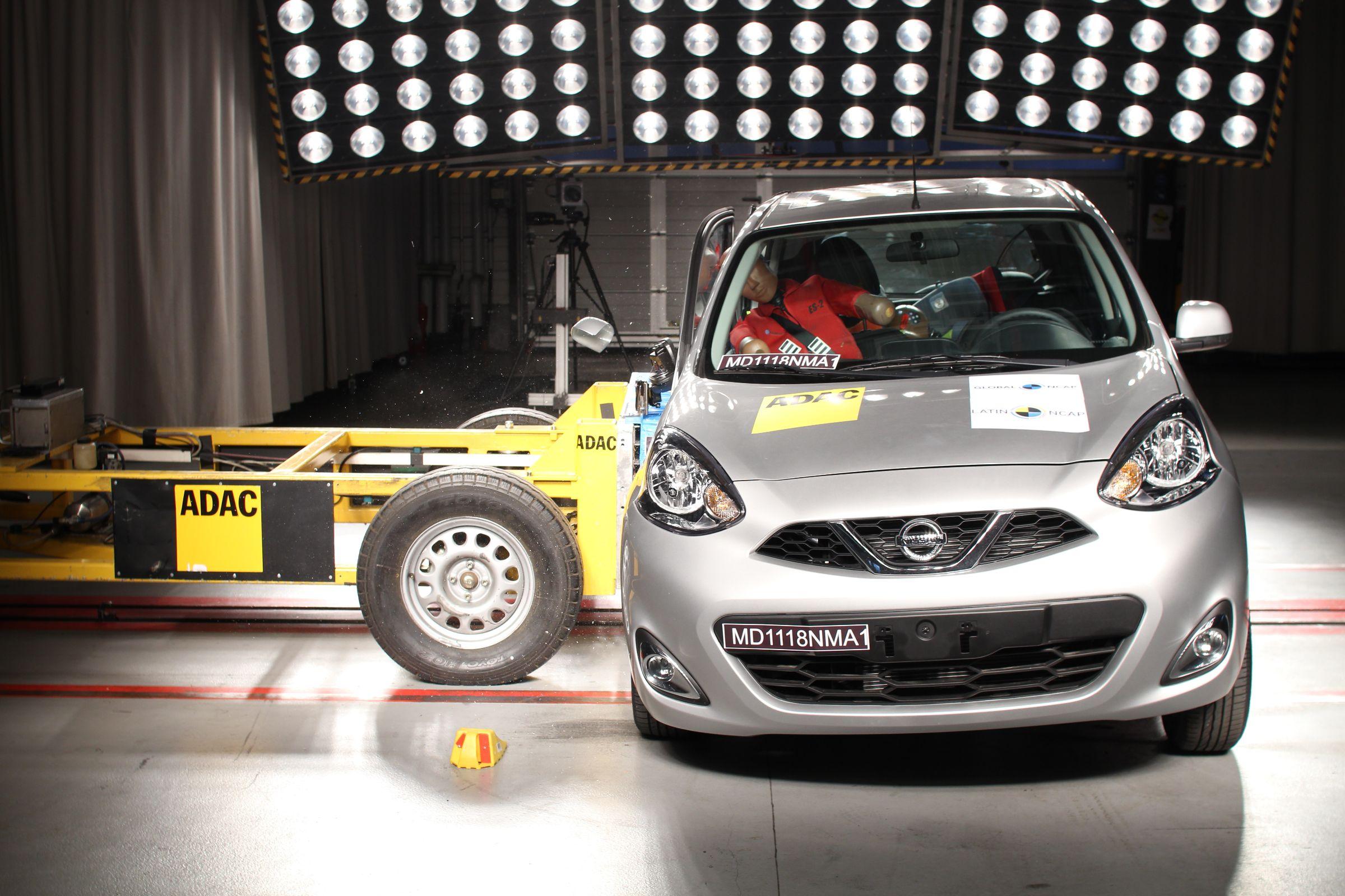O Latin Ncap revelou o resultado de mais um modelo produzido no Brasil. O Nissan March se mostra inseguro quanto aos impactos laterais.