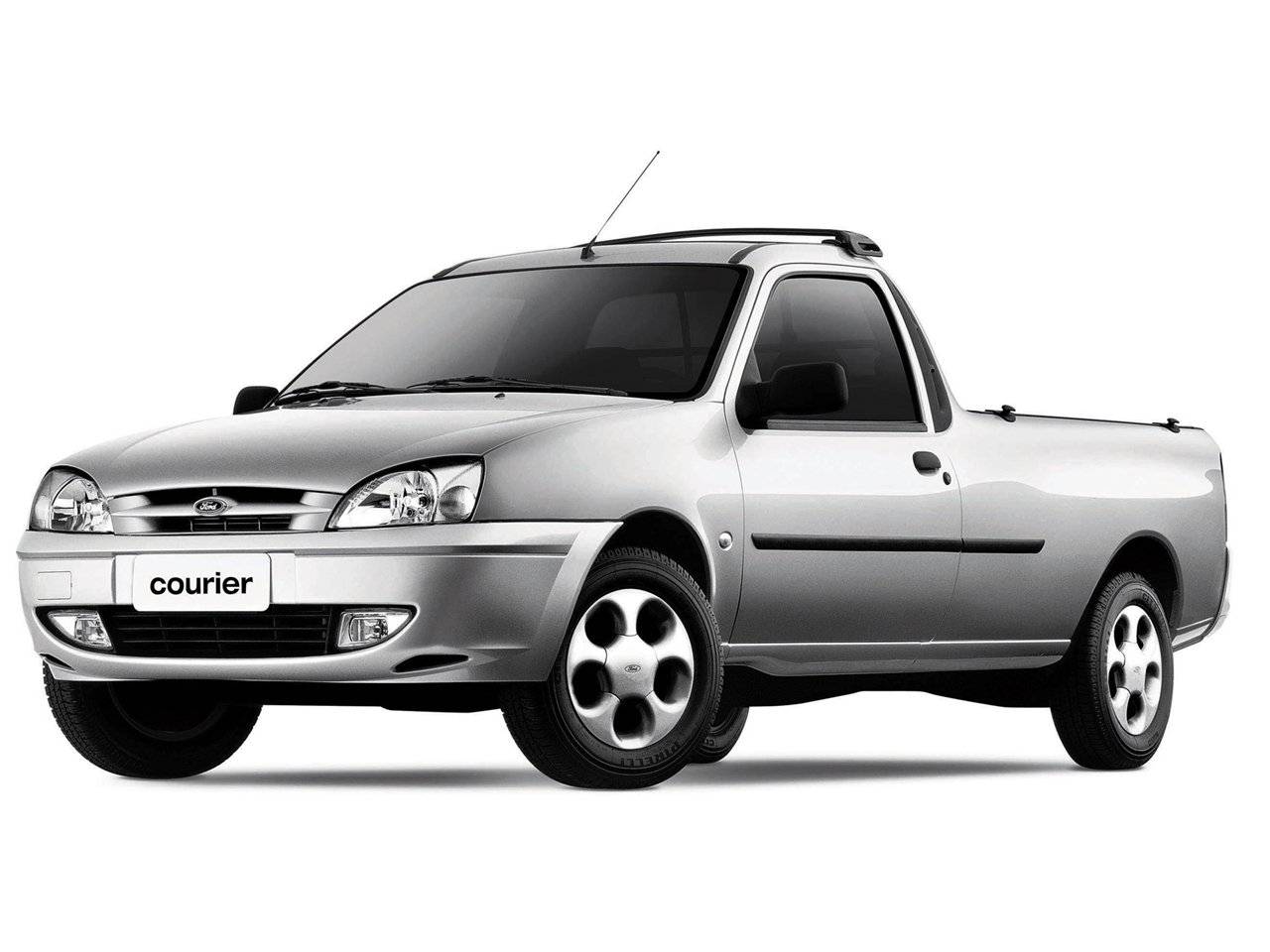 A nova picape da Ford será maior do que a Courier