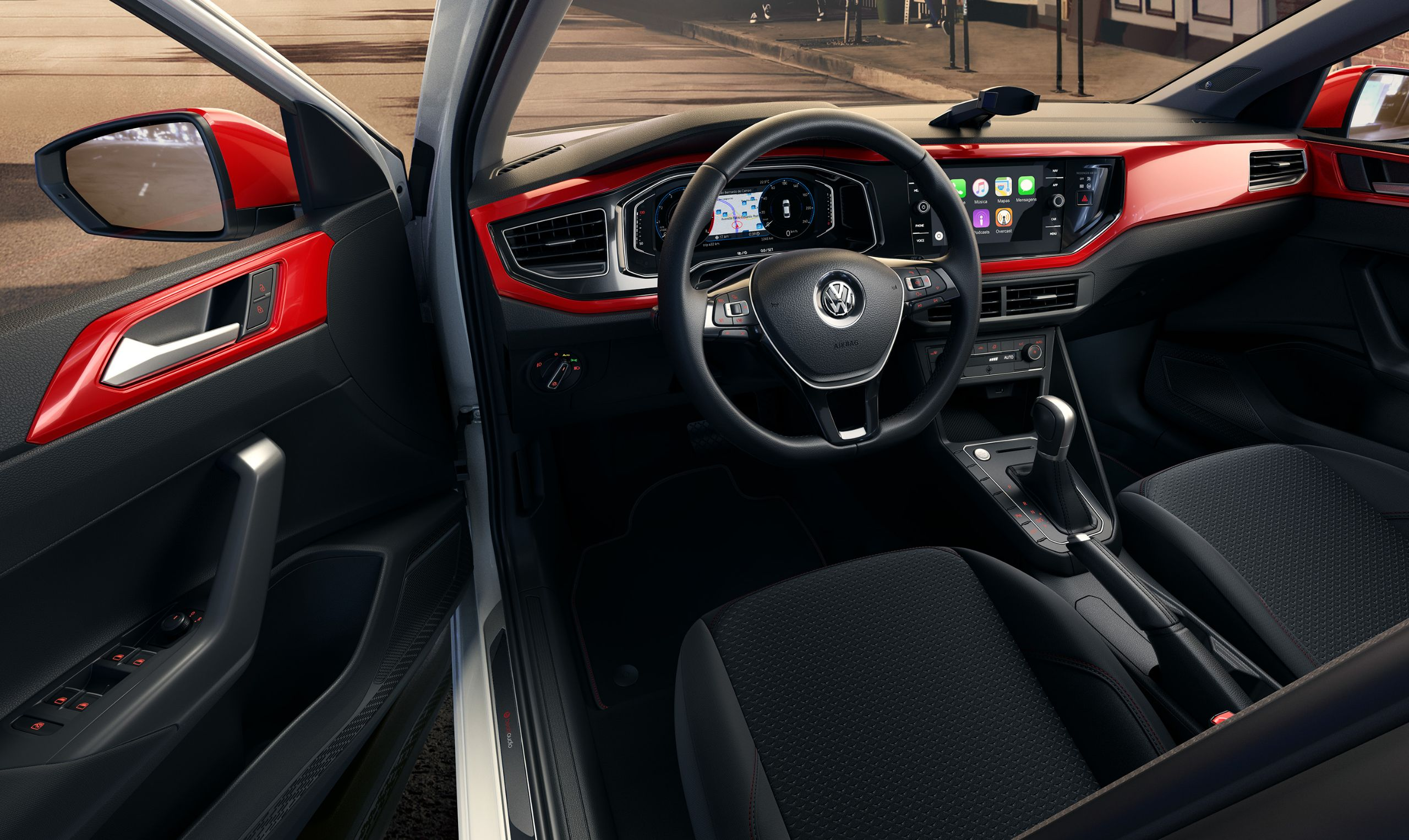 Sistema de som Beats é novo pacote no VW Polo