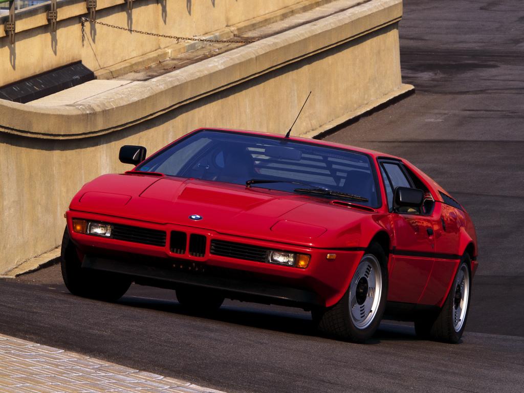 BMW M1: superesportivo alemão completa 40 anos