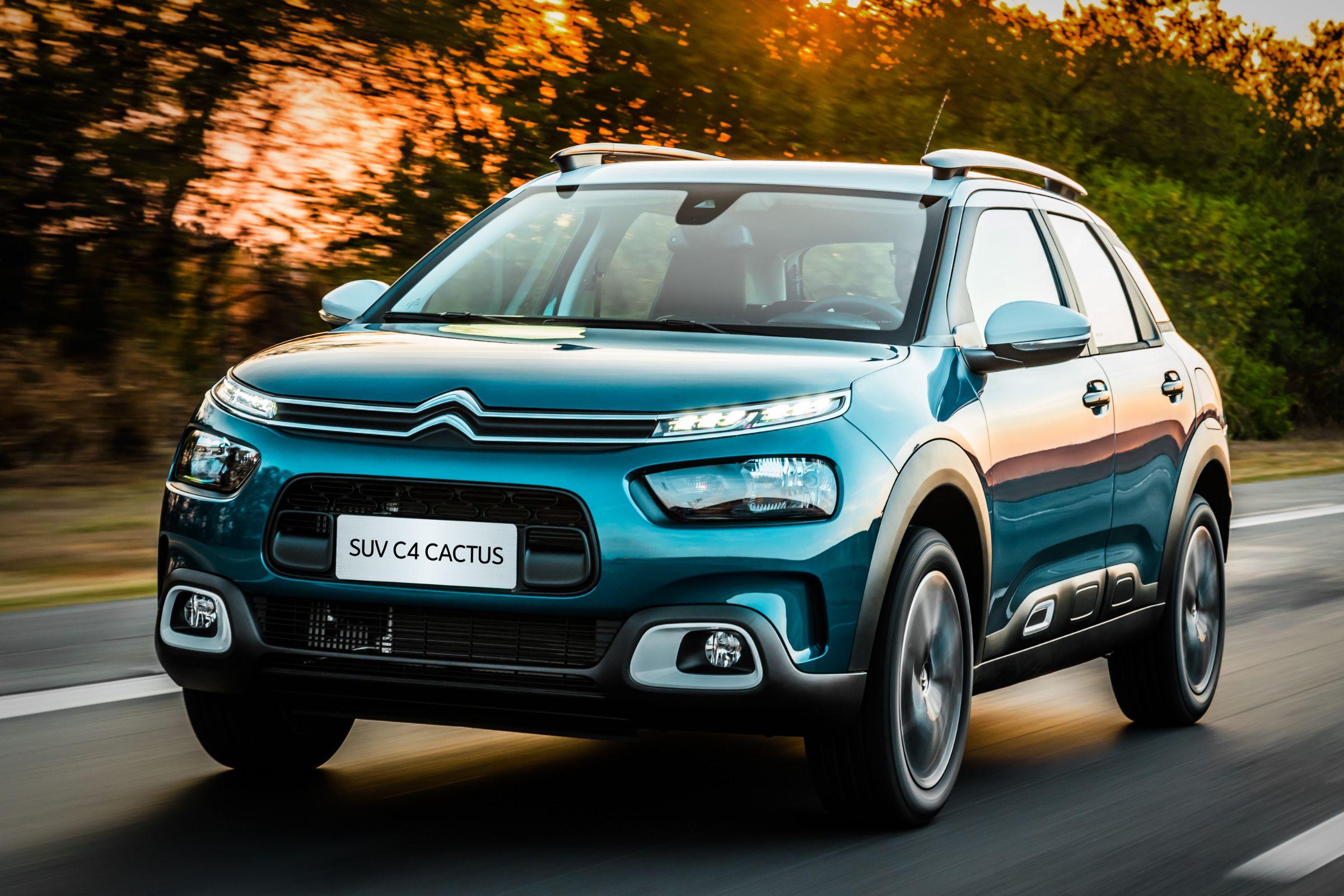 C4 Cactus tem como missão ser um divisor de águas e restaurar a imagem da Citroën no Brasil