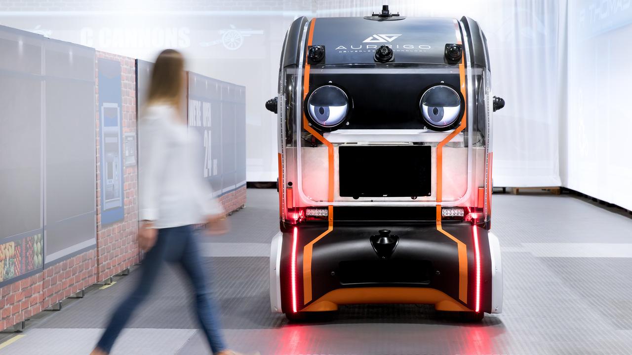 Robô com expressão humana desenvolverá carros autônomos