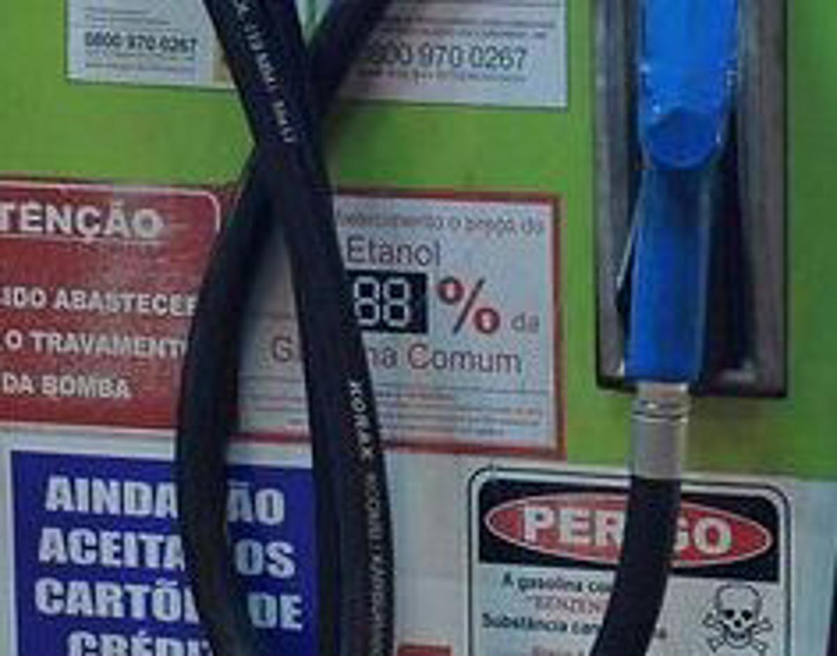 Gasolina tem enxofre