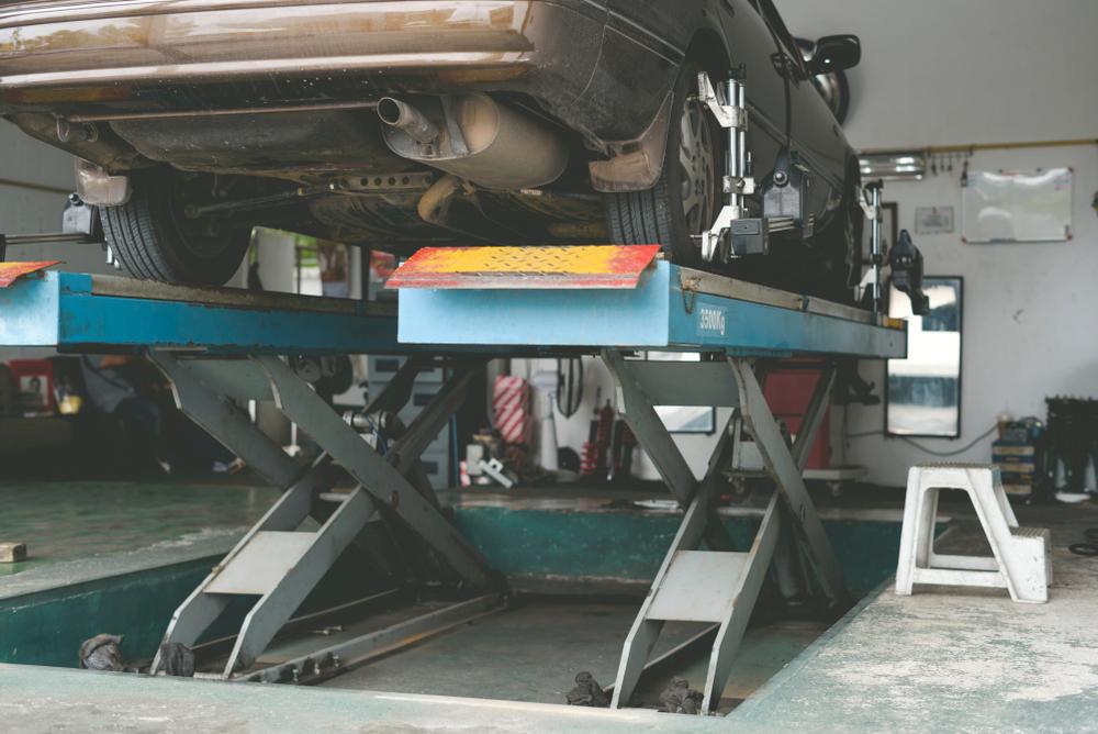 desgaste irregular dos pneus traseiros