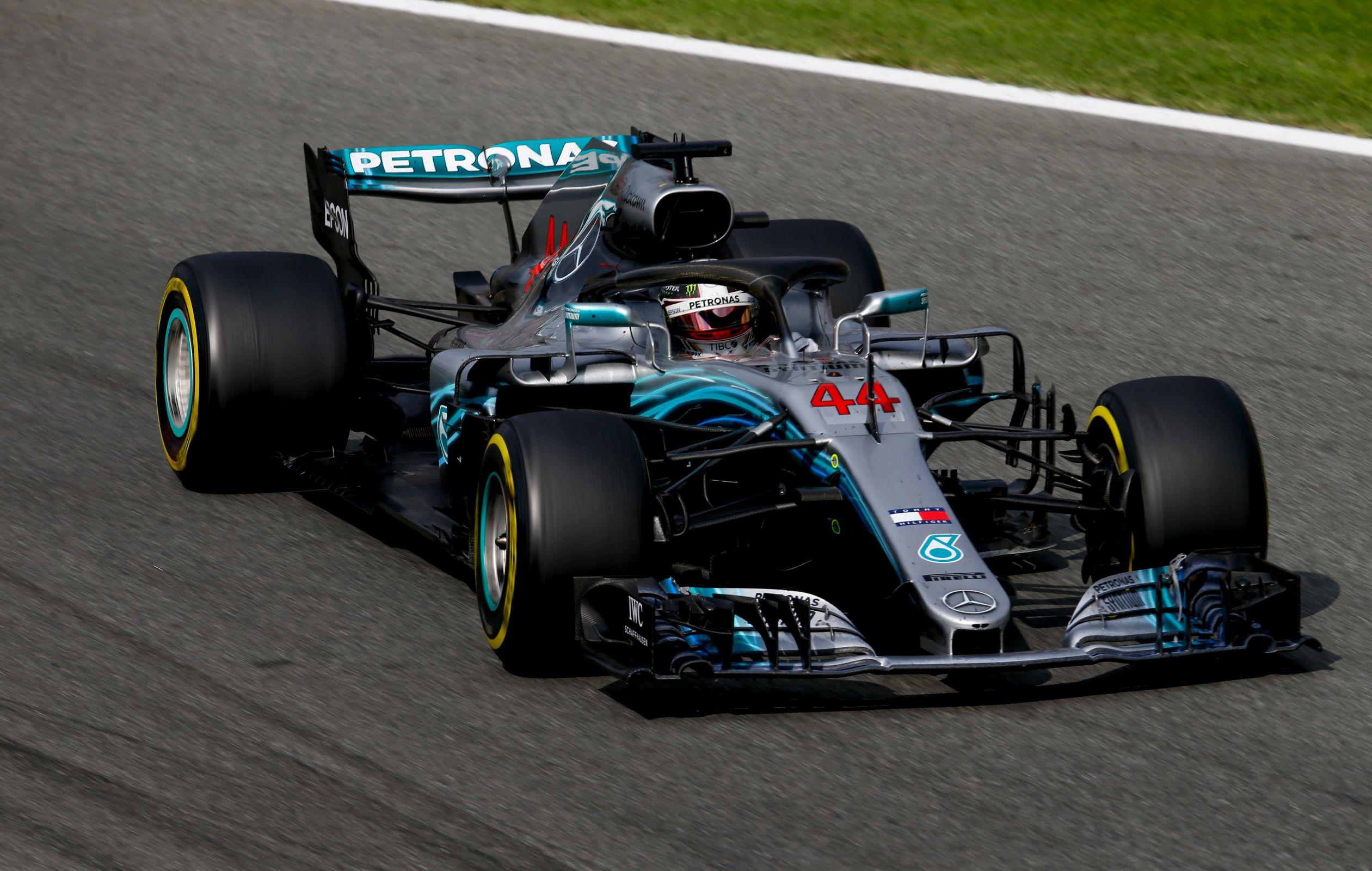 A Petronas é parceira da equipe Mercedes-Benz de Fórmula 1