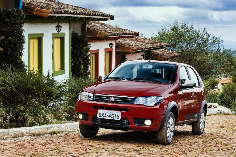 7 carros vendidos no Brasil por mais de 20 anos: Fiat Palio