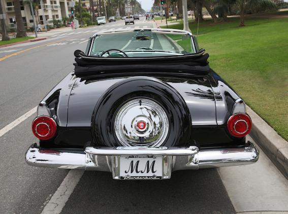 marilyn monroe 1956 ford thunderbird 1