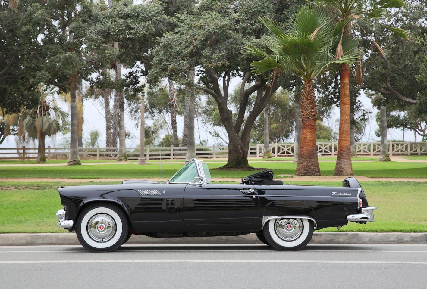 marilyn monroe 1956 ford thunderbird 3 1