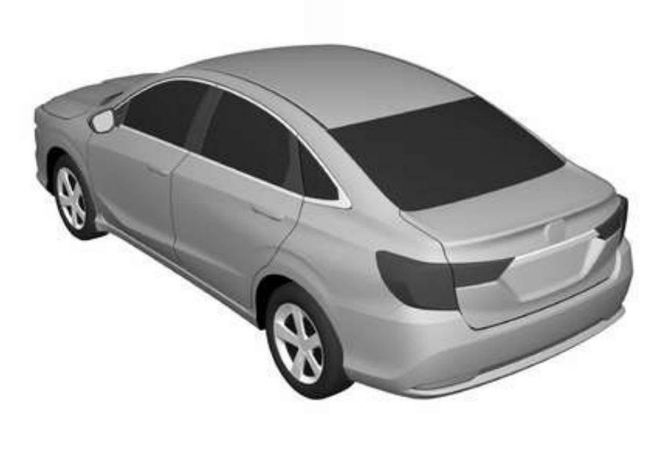 Novo sedã Honda tem patentes registradas no Brasil
