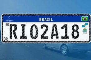 Placas padrão Mercosul  nova despesa para o brasileiro 80ab5b94c0
