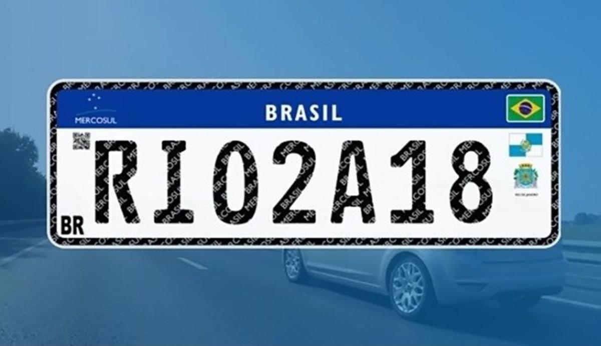 Novas placas do padrão Mercosul têm adoção suspensa por liminar concedida por Tribunal de Brasília