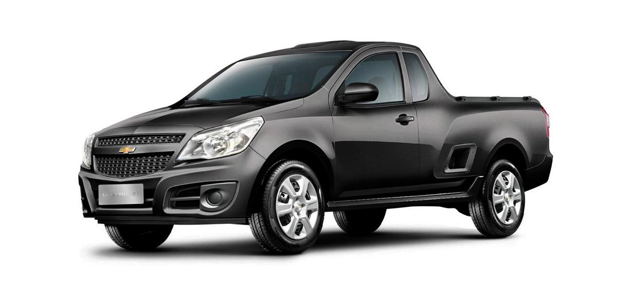 Chevrolet Montana LS: Entre os carros sem ar condicionado, exitem apenas dois de passeio mas, entre os comerciais leves, preços chegam até R$ 71.990 sem contar com o equipamento.
