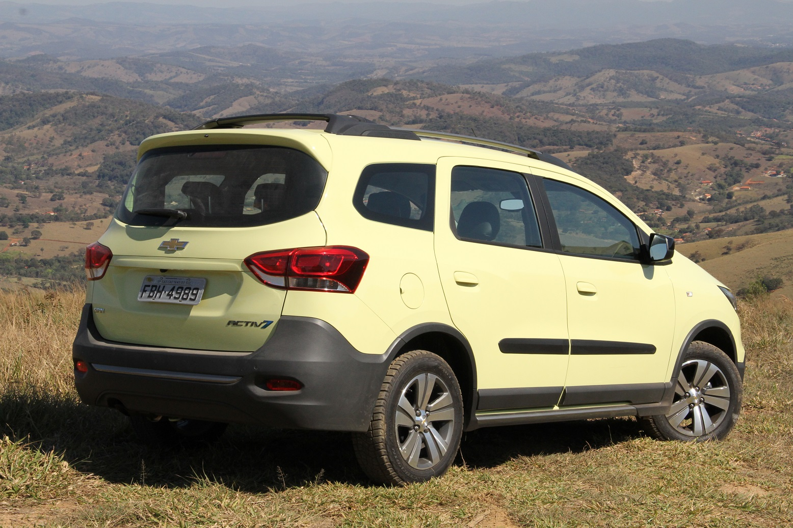 """Chevrolet Spin Activ é versão """"aventureira"""""""
