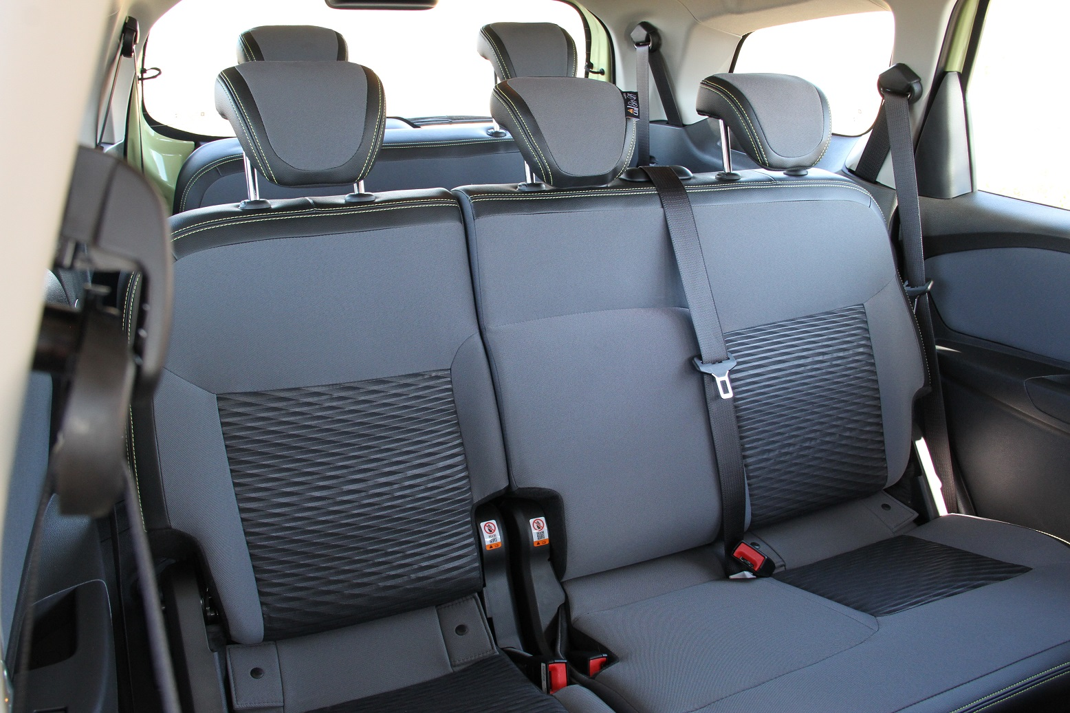 Chevrolet Spin Activ7 tem capacidade para 7 ocupantes