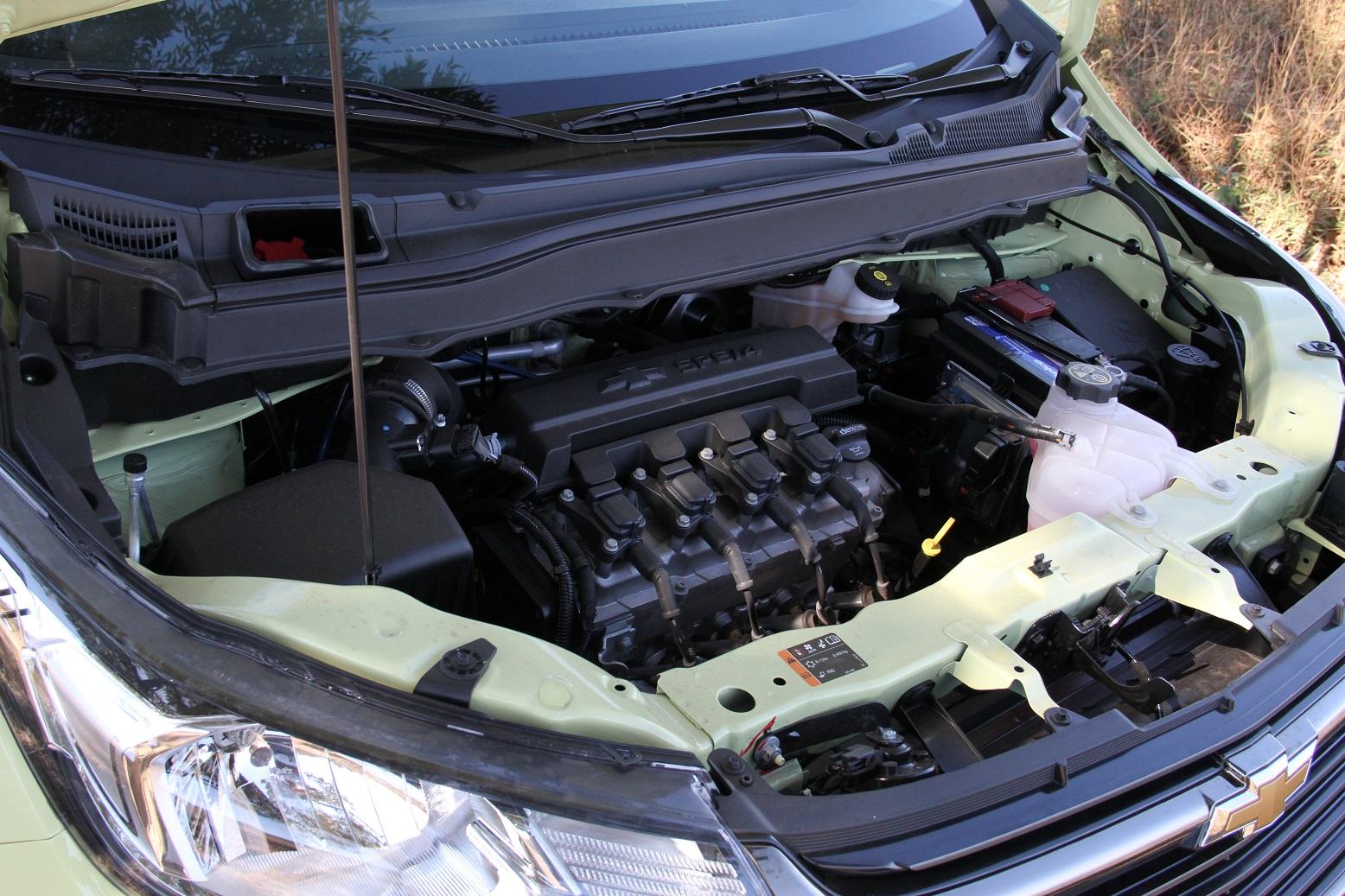 Chevrolet Spin Activ mantém o mesmo motor