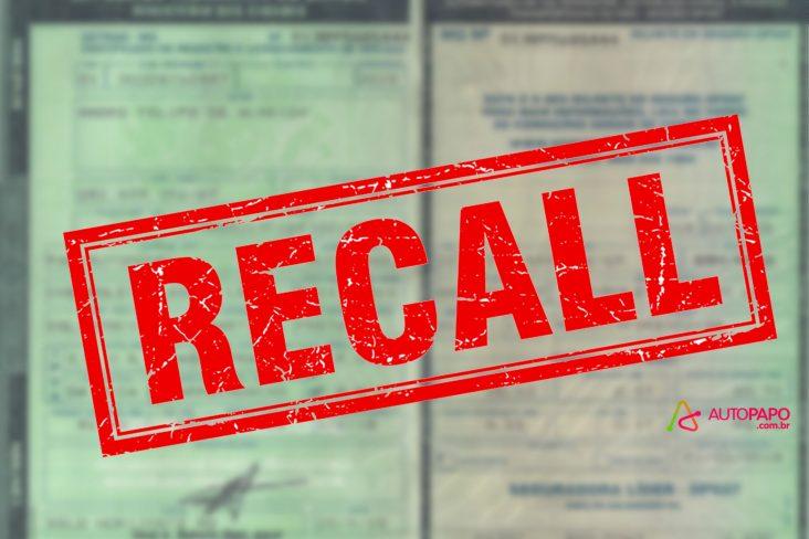 documento carro recall