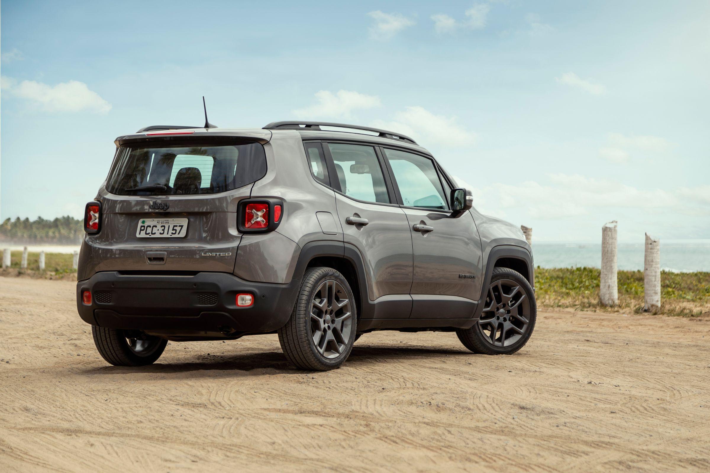 Jeep Renegade 2019: abertura do porta-malas mudou de lug