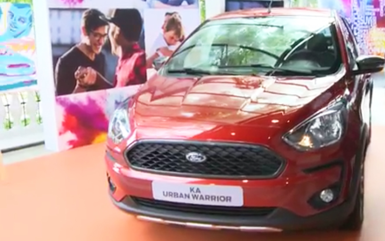 ford ka urban warrior frente