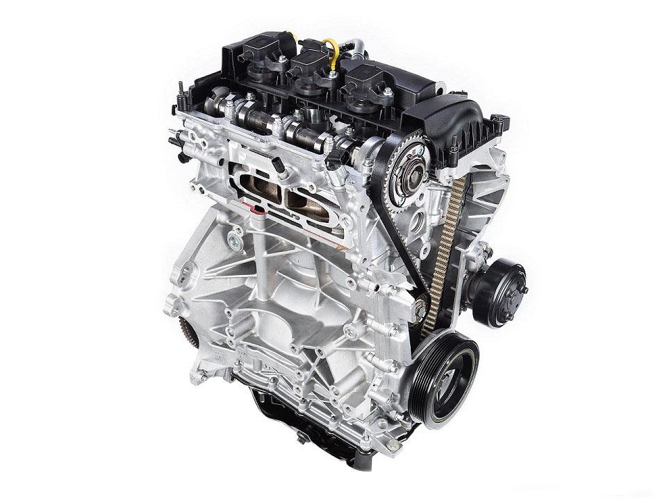 Motor de três cilindros