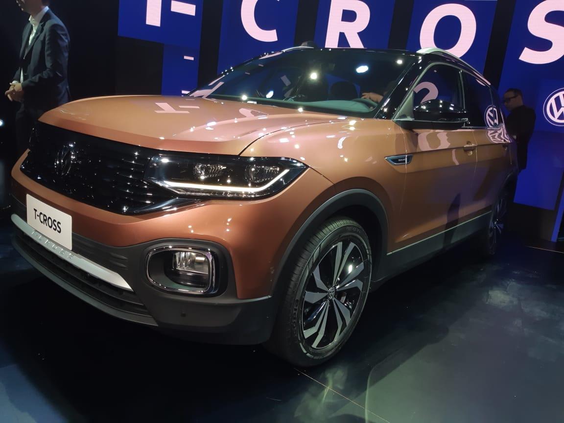 VW T-Cross feito no Brasil é revelado