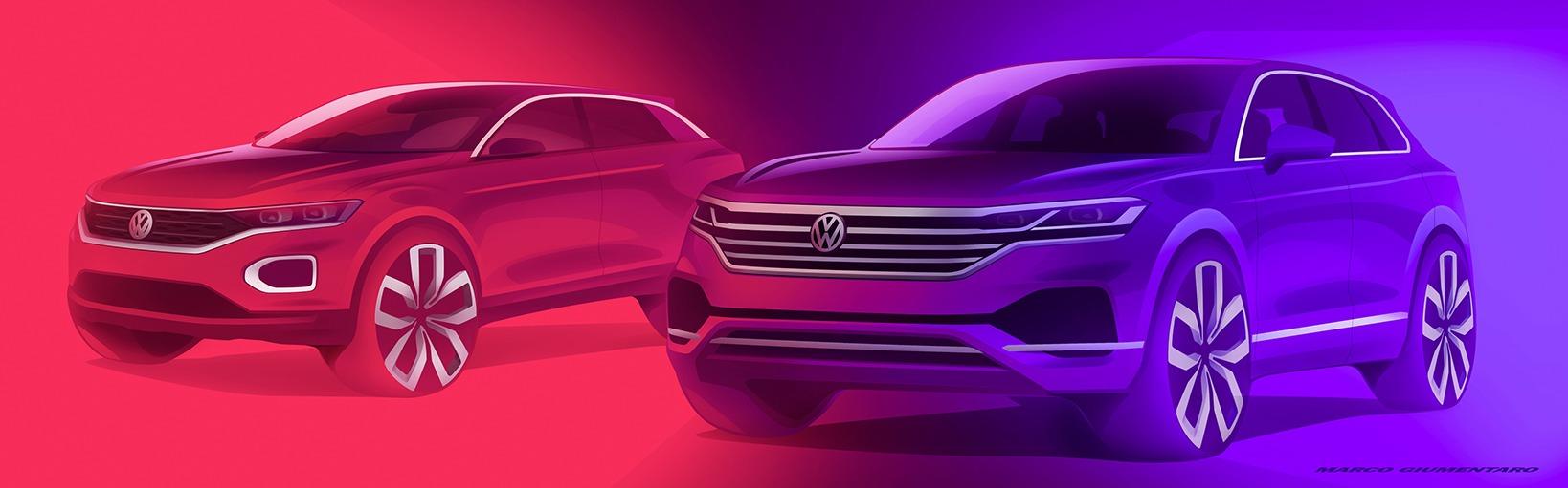 Volkswagen: Alemã indica América do Sul como foco de crescimento da categoria, e afirma que haverão 30 modelos de SUVs da Volkswagen até 2025, em todo o mundo.