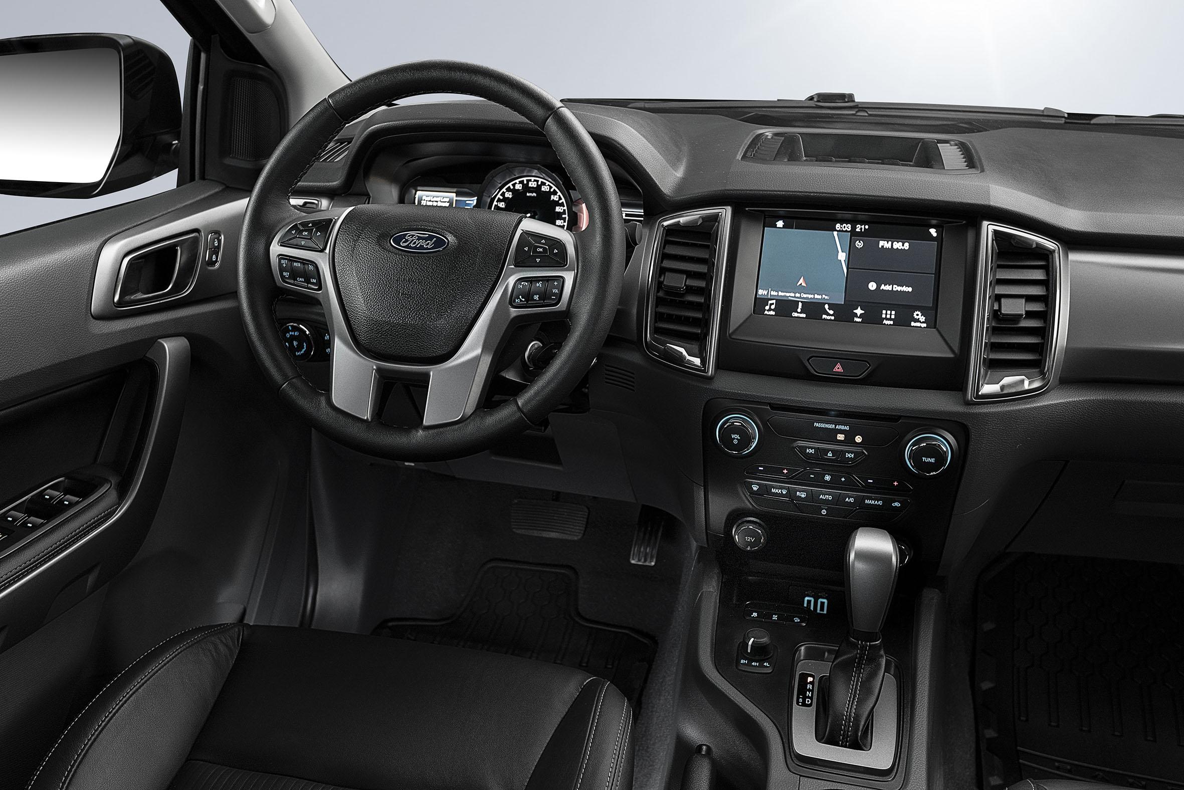 Uma edição especial da Ford Ranger será apresentada no Salão do Automóvel de São Paulo. A Black Edition oferece motor 3.2 de 200 cv e acabamentos especiais.