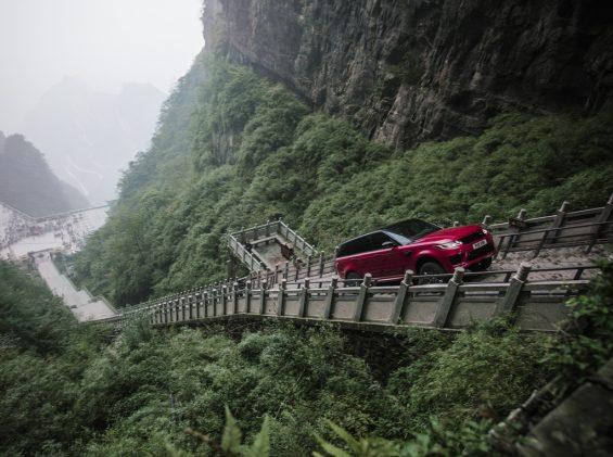 land rover range rover sport china escadaria