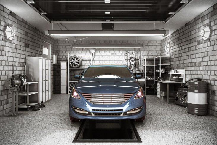 carro parado garagem shutterstock 761584129