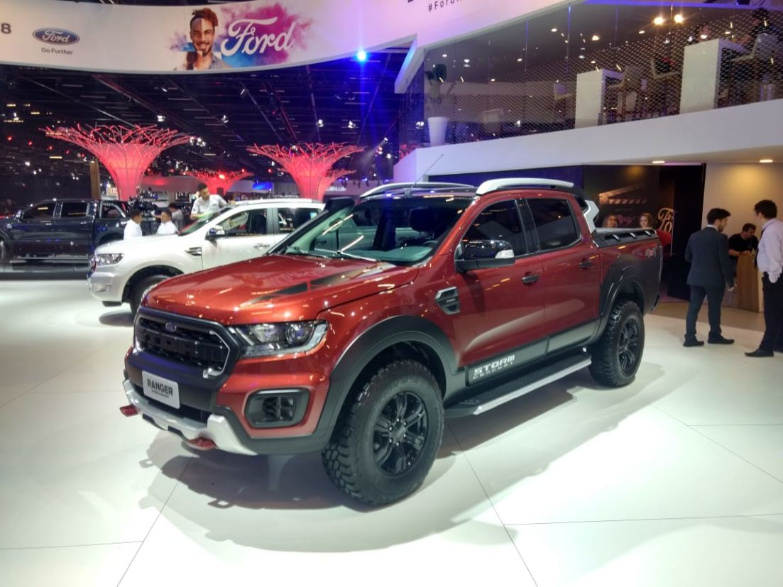 Ford Ranger Storm será lançada no mercado brasileiro entre o fim deste ano e o início de 2019