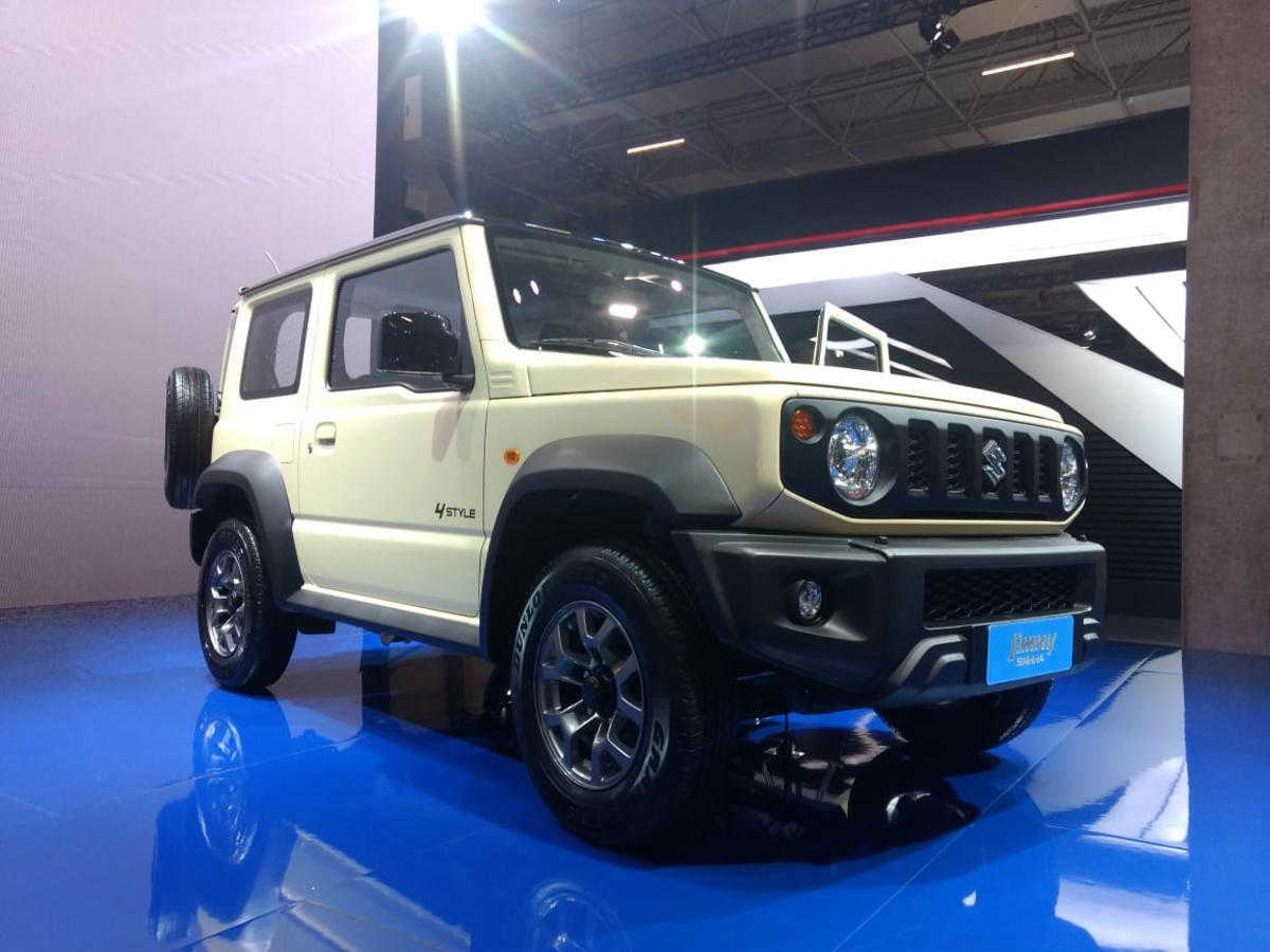 suzuki no salao do automovel novo jimny 2