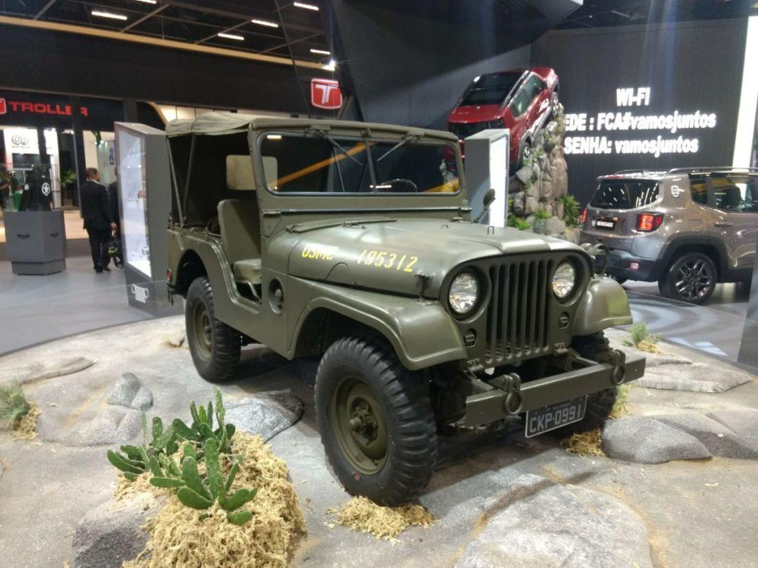 jeep willys 1964 salao de sao paulo