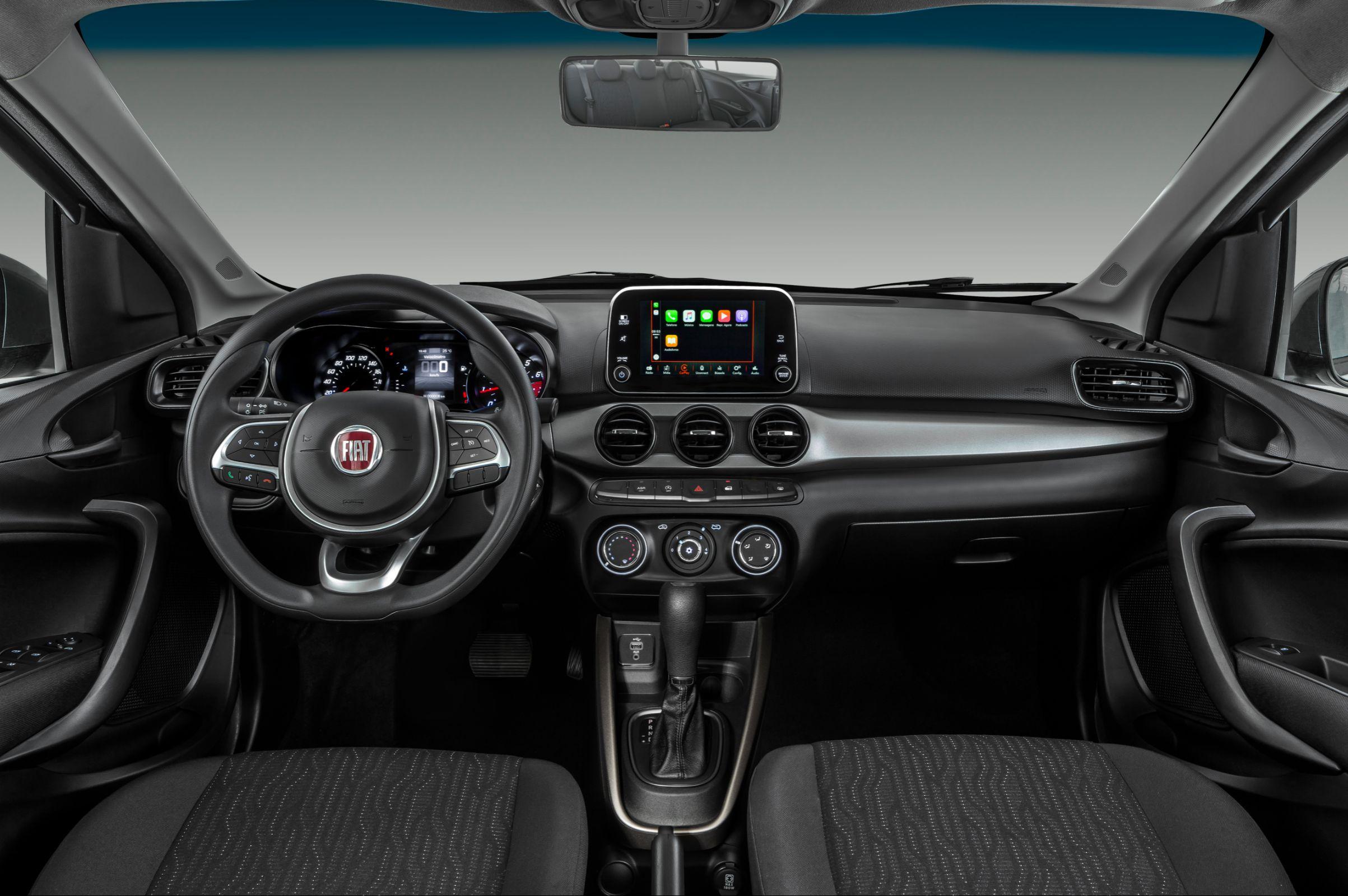 Fiat Chrysler Automóveis lança o Cronos 1.8 automático. Modelo entrega 139 cavalos e será vendido nas concessionárias por R$ 69 mil.