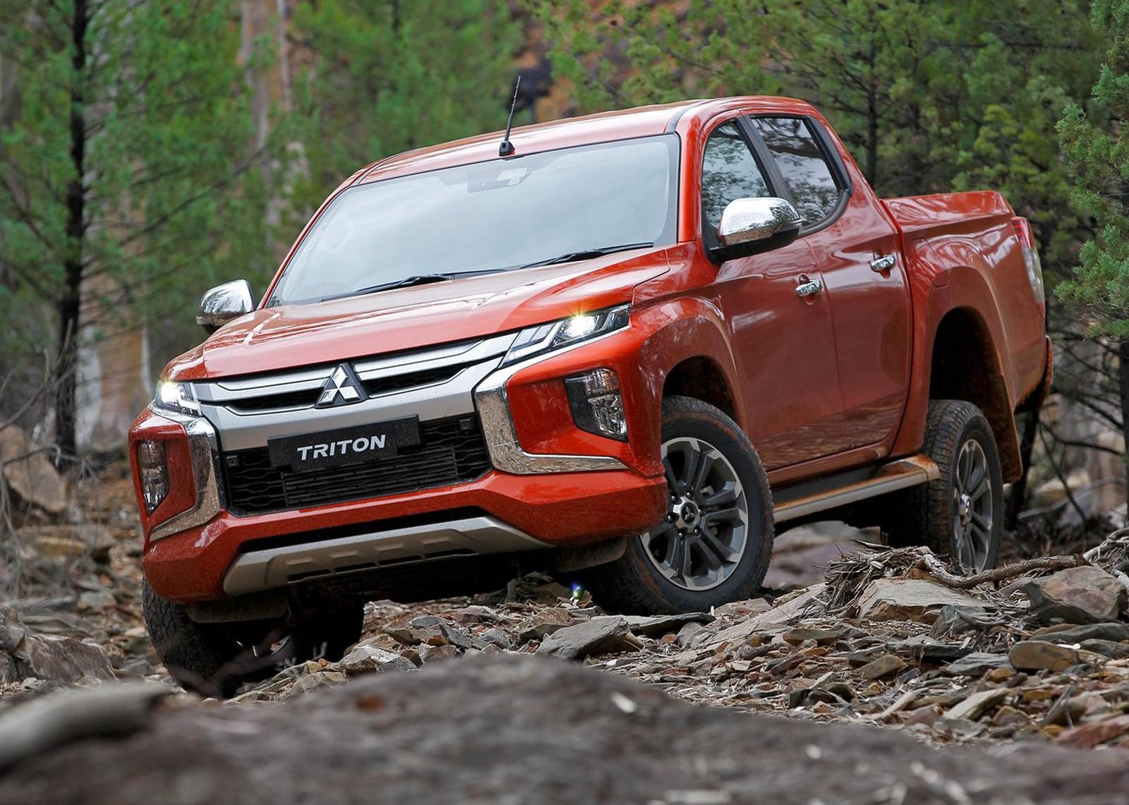 Nova Mitsubishi L200 Triton é registrada no Brasil, mas só ...