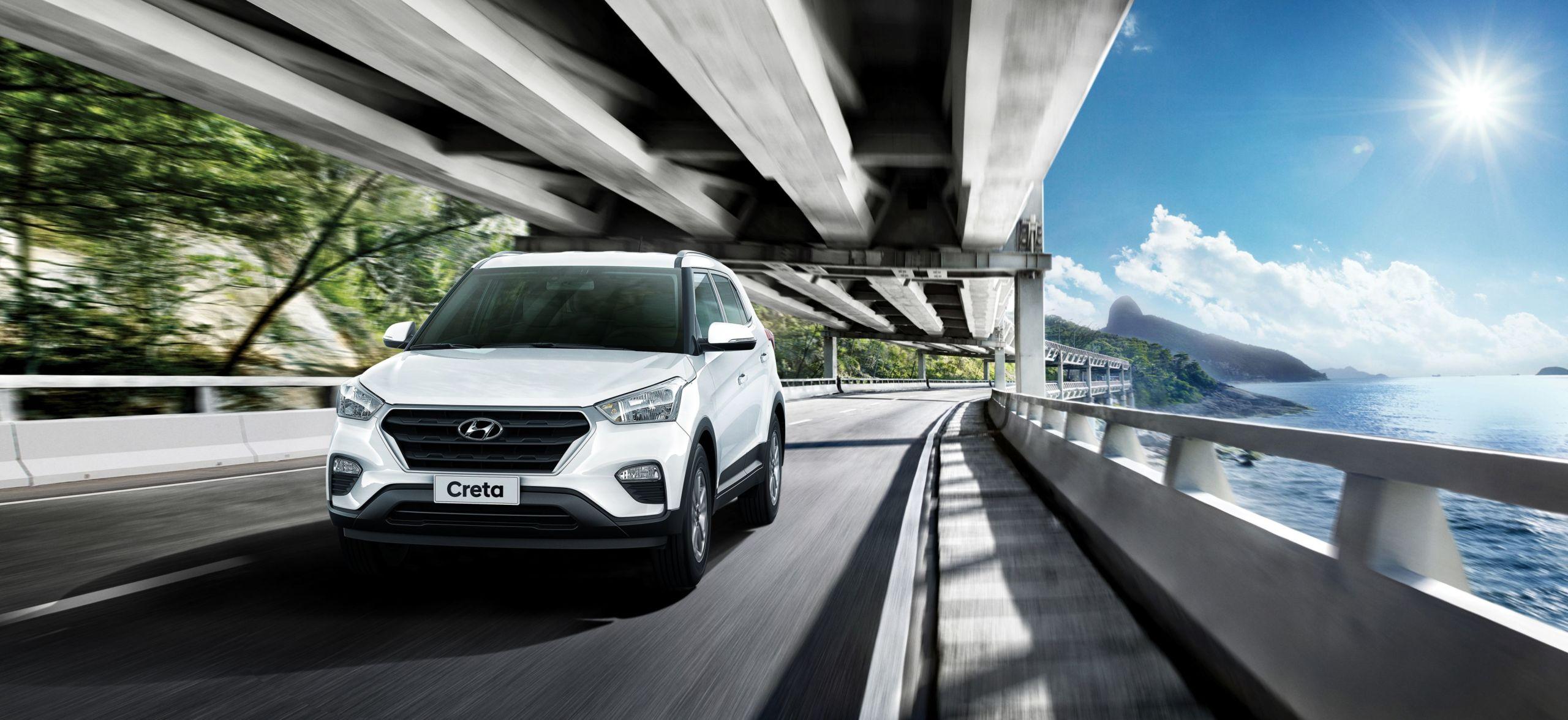 Nova configuração Hyundai Creta Smart é a opção mais em conta com câmbio automático na gama do SUV, e também conta com controle de estabilidade e de tração.