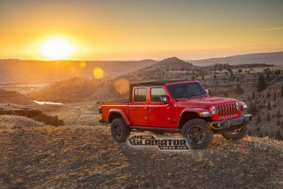 picape do jeep wrangler gladiator 2